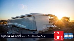 BRASIL 2014. Arena Corinthians San Pablo. Grupo 1 Construcciones